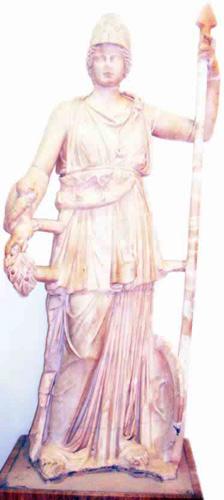 The goddess Minerva at the Assaraya Alhamra museum in Tripoli