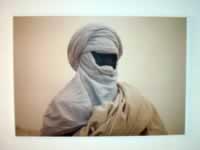 Tuareg poster from Tripoli museum