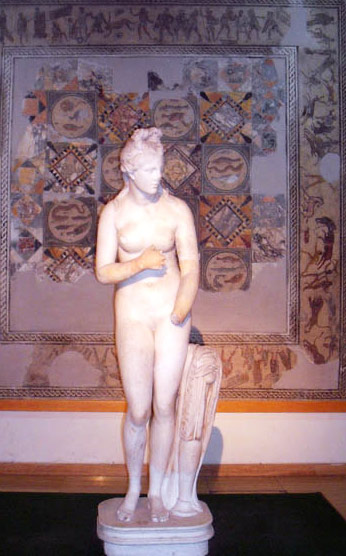 Mosaics from Tripoli Museum