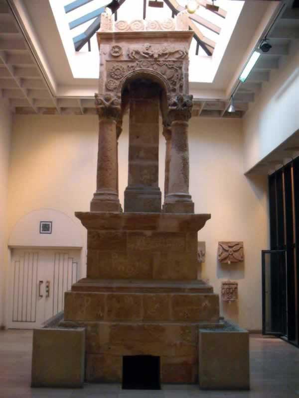 Mausoleum from Ghirza, Libya.