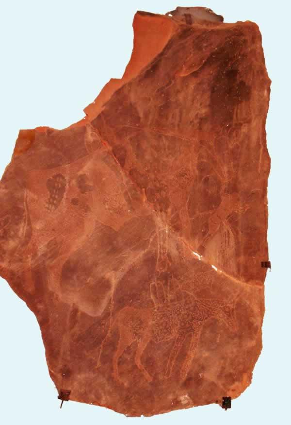 germa museum, fezzan, Bir Ghanima prehistoric drawings