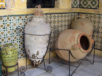 Large Clay Pots