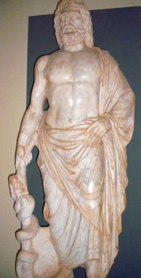 Asclepius the God of Medicine