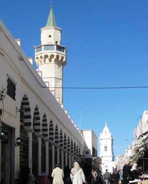 Ahmed Pasha Karamanli mosque in Tripoli