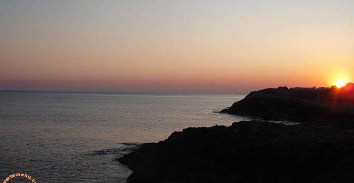 sunset at janzur