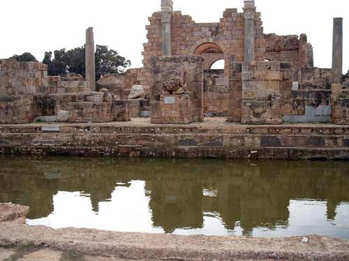 the Hadrianic baths