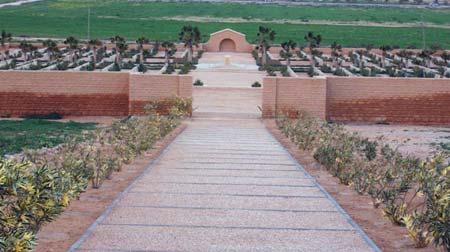 English Cemetery in Tobruk