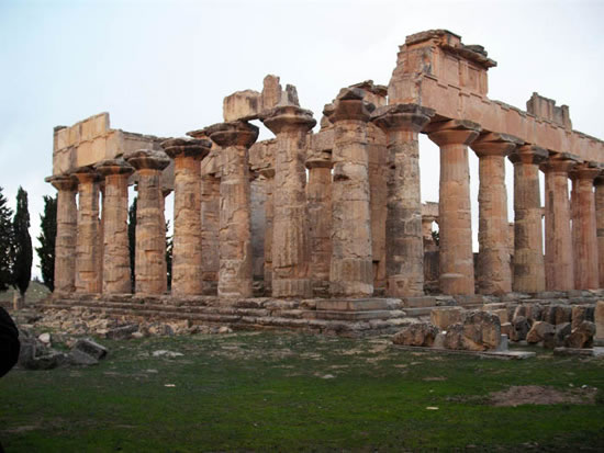 Zeus Temple in Cyrene