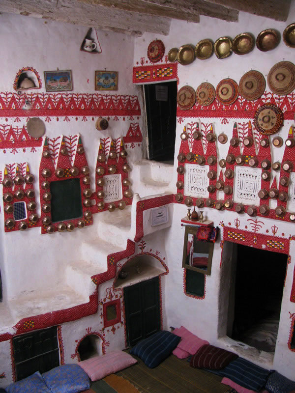 interior ghadames room