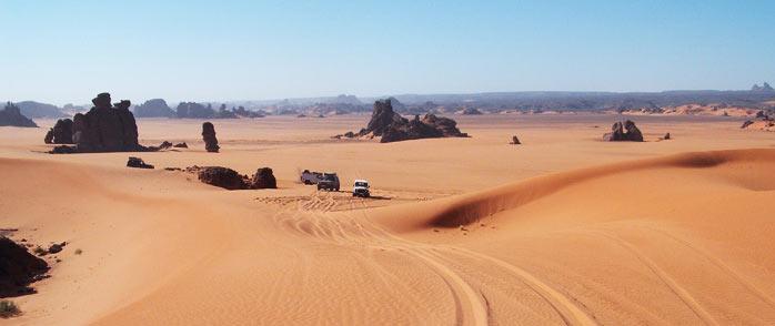 Self Drive 4x4 Sahara Desert Tours In Libya