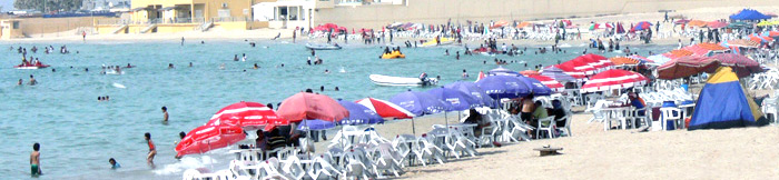 tripoli beach
