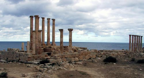 Sabratha, Libya: Isis Temple