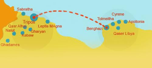 Archaeological Tour Of Libya - Where is tripoli