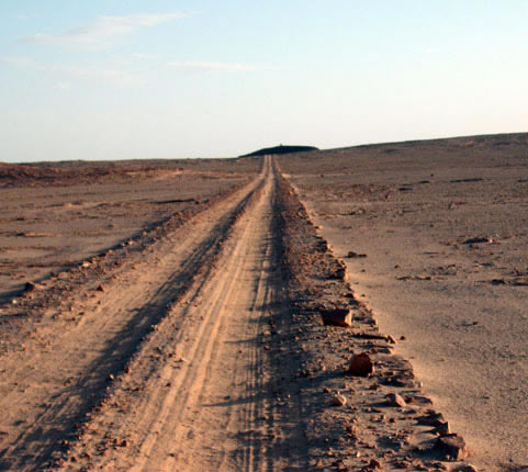 Derj Idri desert track