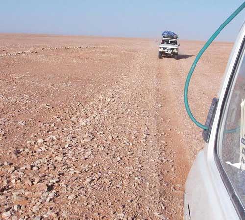 Rocky Track of  Alhamada Alhamra
