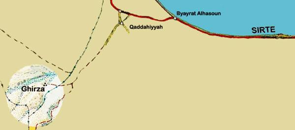 Ghirza Libya Girza