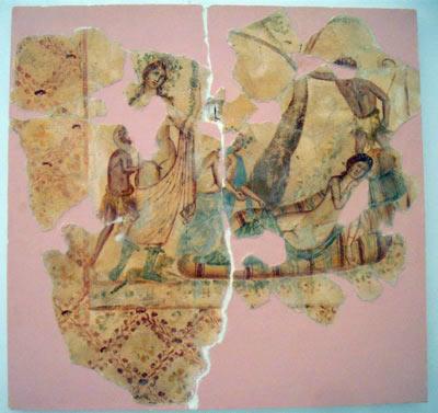 wall fresco byzantine
