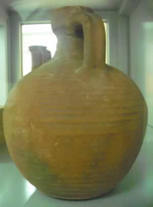 large clay jars