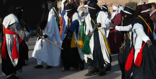 nalut festival tuareg dance