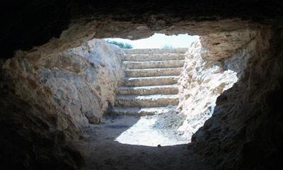 the cave of umar al mukhtar