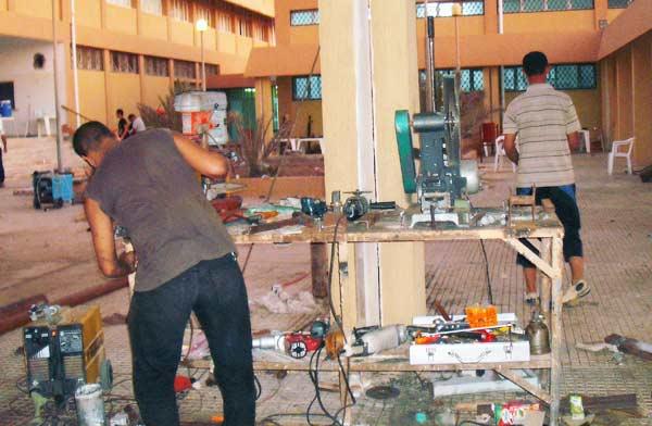 zuwarah rebels workshop