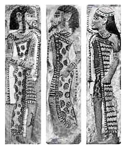 ancient Libyans in Egyptian drawings