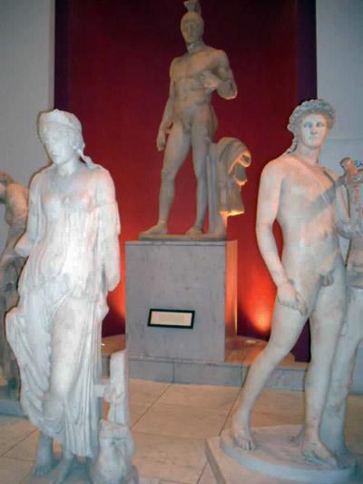 more statutes from Jamahiriya Museum