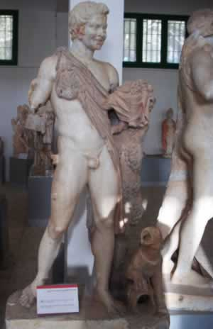 Statue of Satyr from the Antonine period