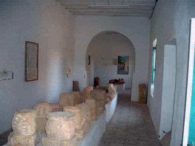 ghadames museum stones