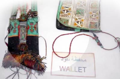 Leather crafts, wallet