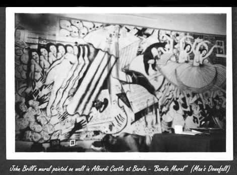 photo of Bardiyah by Cpl W. G. Christian, taken in 1943 - Bardia Mural: Man's Downfall
