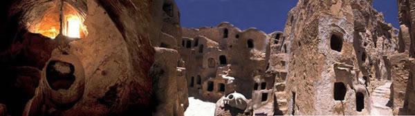 ancient Berber castles in Nalut