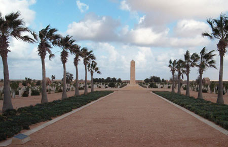 commonwealth cemetery in Tobruk Libya