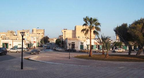 Zuwarah city centre