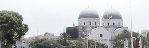 a catholic church domes from Benghazi