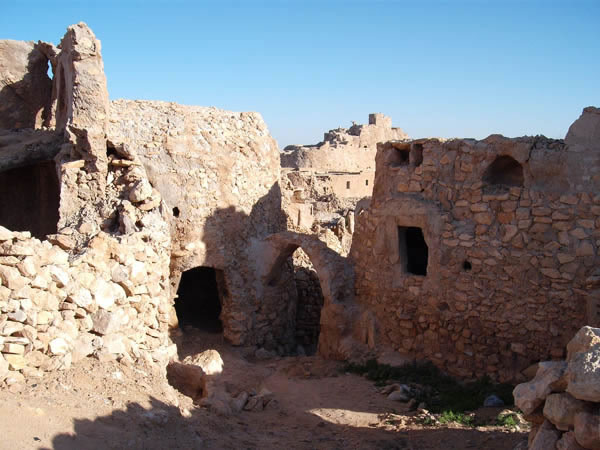 Nalut House  built of stones