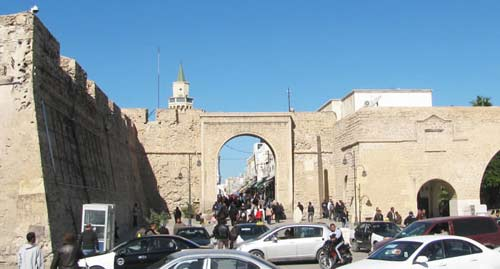 the main entrance to the Old City