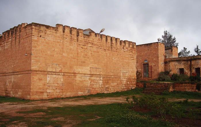 the fort of Qasr Libya, now a museum of mosaics