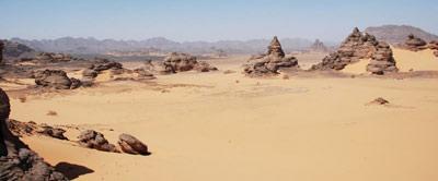 Acacus Sahara