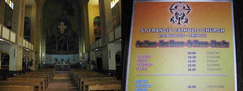 St Francis church Tripoli