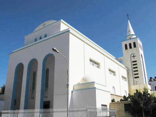 St Francis church Tripoli