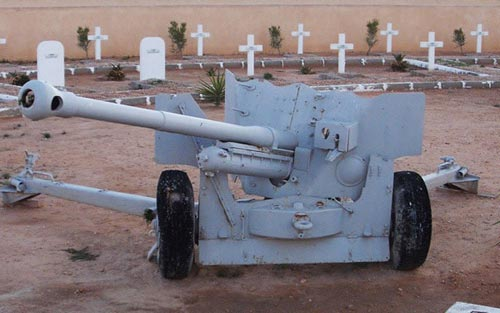 World War Two Cannon from Tobruk