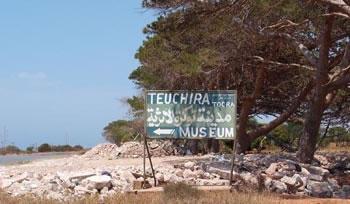 tokra road sign