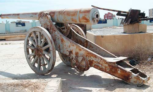 ww2 cannon from tobruk
