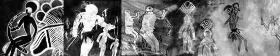 Prehistoric Saharan ceremonial compositions