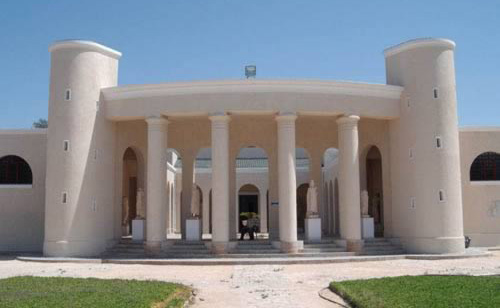 the front building of Sabratha Museum