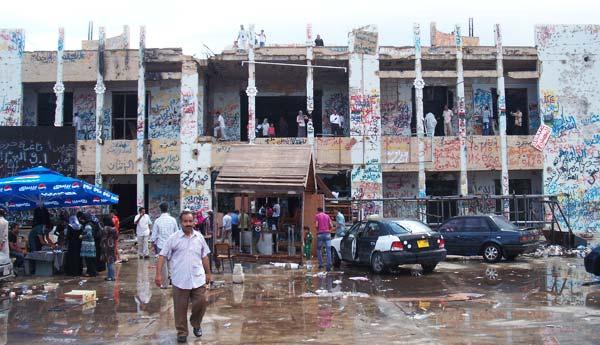 gaddafi's house in tripoli